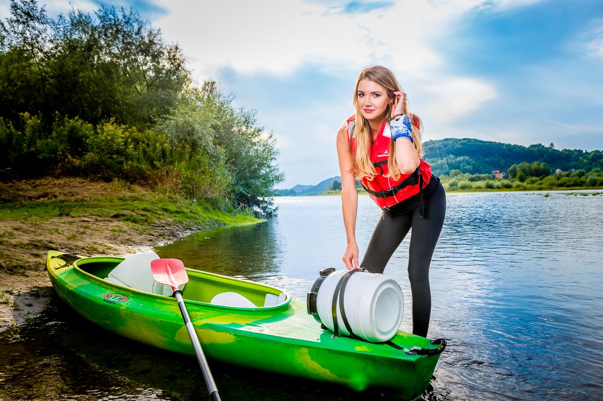 6-10h Spływ Dunajcem, trasa: Tarnów – Ujście Jezuickie / Wisła