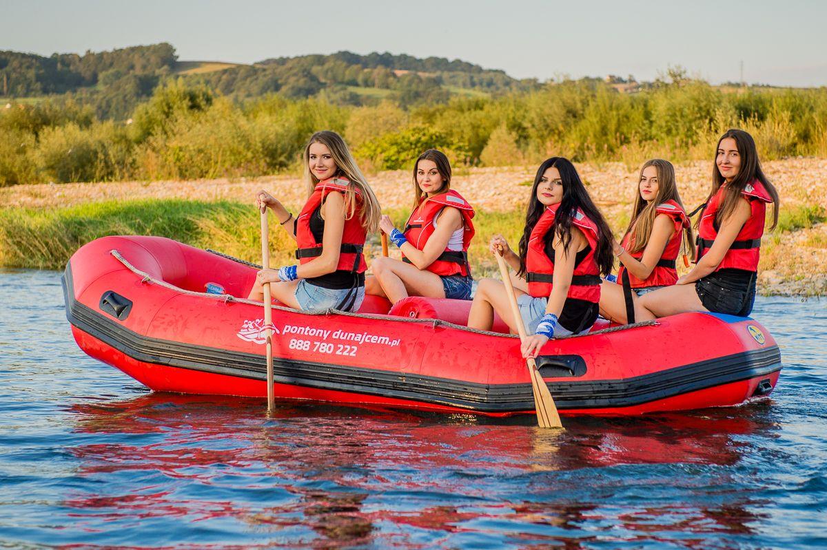 Rafting Dunajcem, trasa: Jurków – Zakliczyn