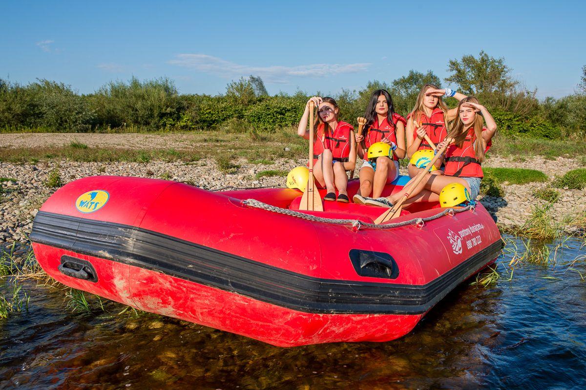 Rafting Dunajcem, trasa: Jurków – Tarnów
