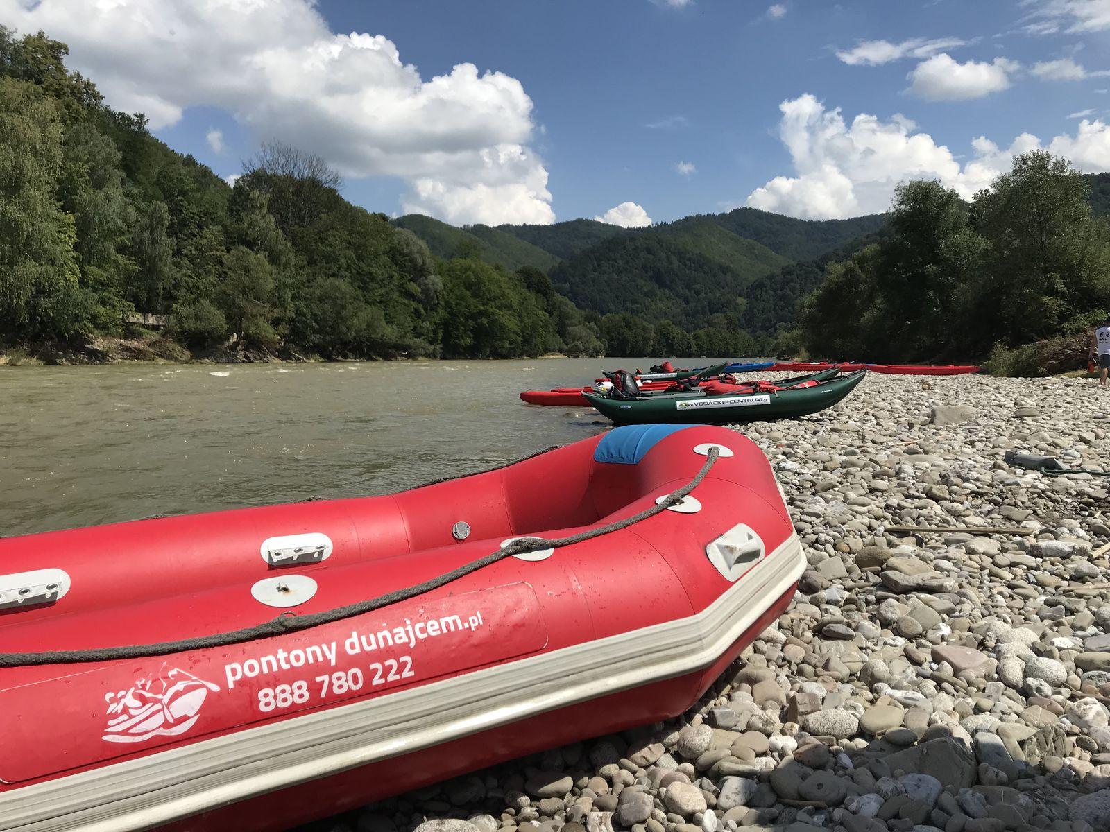 Rafting Przełomem Dunajca – trasa: Krościenko-Łącko-Jazowsko
