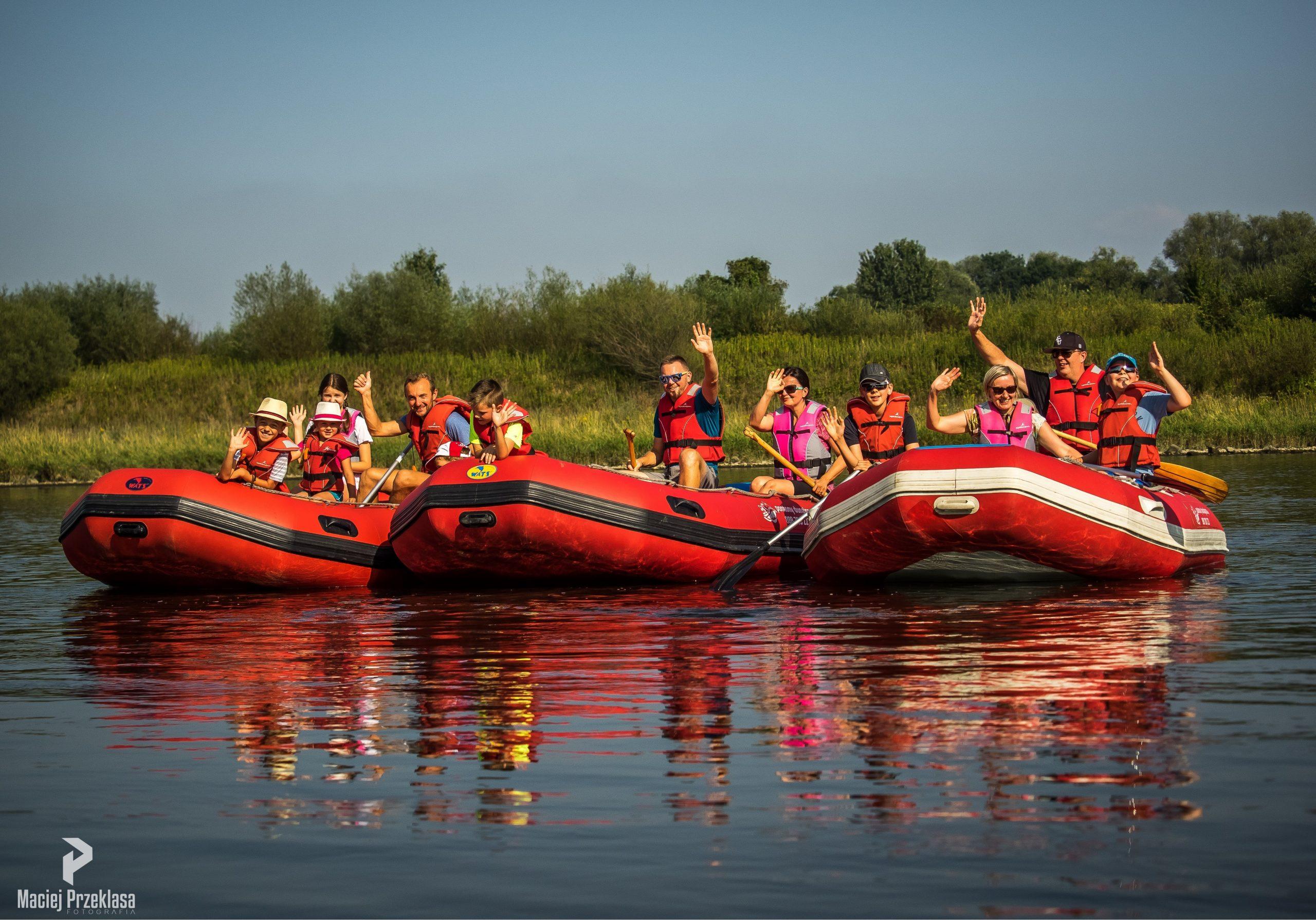 Rafting i Spływy grupowe