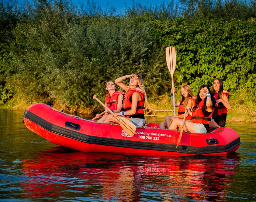 Rafting – Pontony Dunajcem