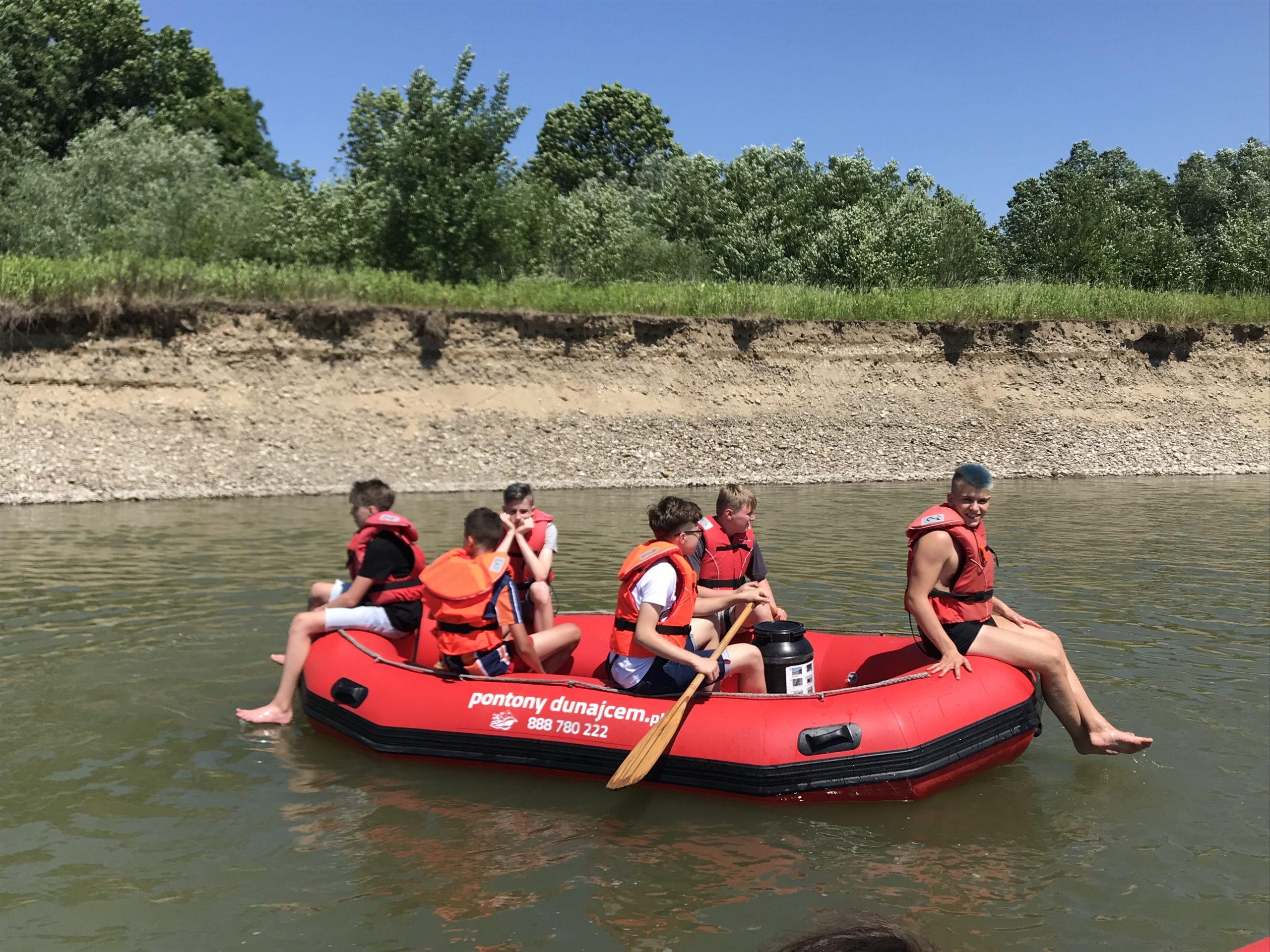 Rafting Dunajcem, trasa: Tarnów – Ujście Jezuickie / Wisła
