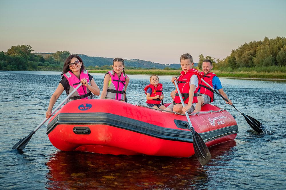 Rafting – Pontony Popradem