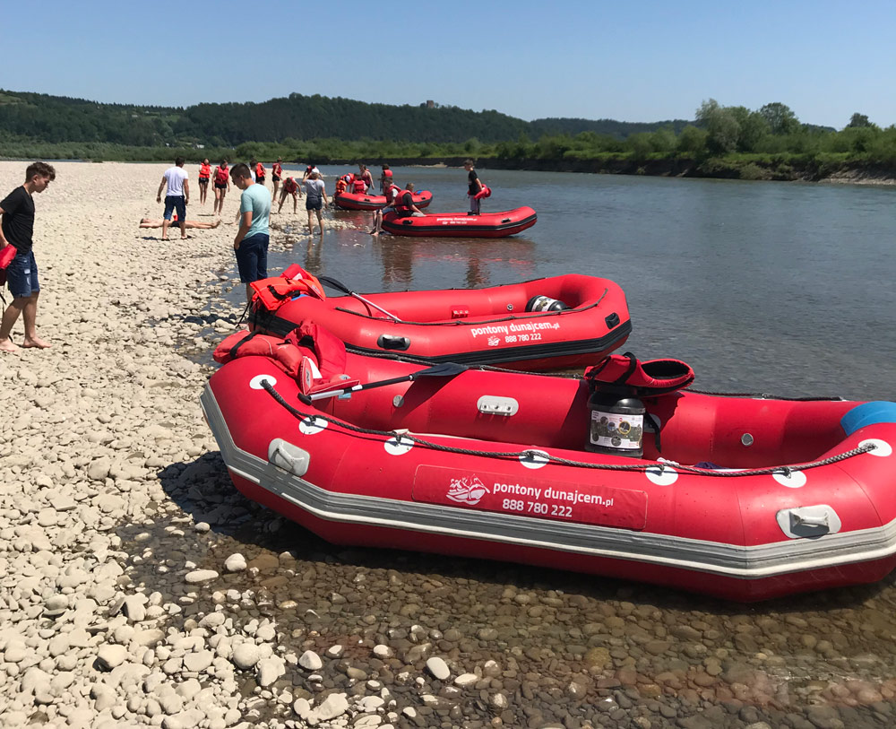 Rafting i Spływy kilkudniowe